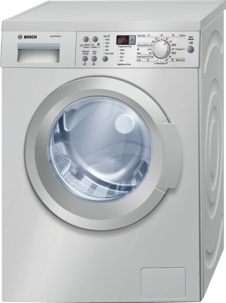 Bosch WAQ2836SGB 8Kg Washing Machine in Silver with 1400rpm Spin