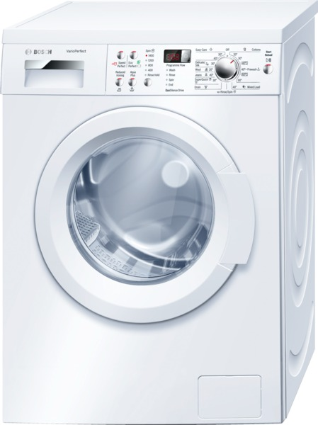Bosch WAQ283S1GB 8Kg Washing Machine in White with 1400rpm Spin