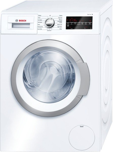 Bosch WAT28460GB 8Kg Washing Machine in White with 1400rpm Spin