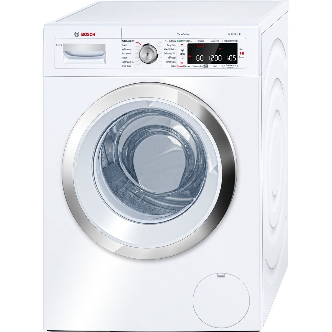 Bosch WAW28660GB 9Kg Washing Machine in White with 1400rpm Spin