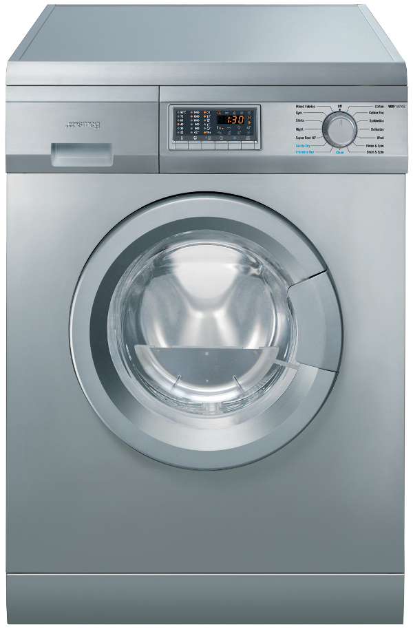 Smeg WDF147XS 6Kg Freestanding Washer Dryer in Stainless Steel
