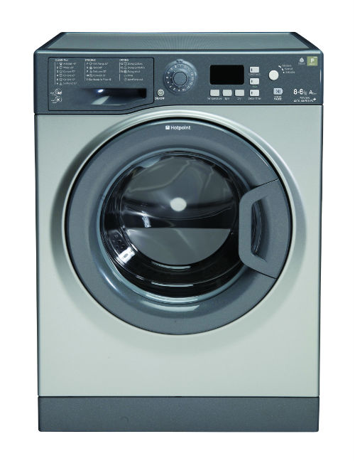 Hotpoint WDPG8640G Aquarius Plus 8Kg Washer Dryer in Graphite with 6Kg Drying Capacity