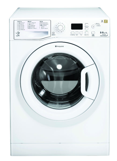 Hotpoint WDPG8640P Aquarius Plus 8Kg Washer Dryer in Polar White with 6Kg Drying Capacity