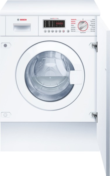 Bosch WKD28541GB Integrated 7Kg Washer Dryer with 4Kg Drying Capacity and 1400rpm Spin