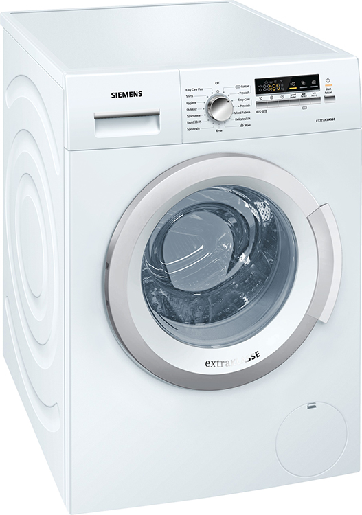Siemens WM12K280GB 7Kg iSensoric Washing Machine in White with 1200rpm Spin