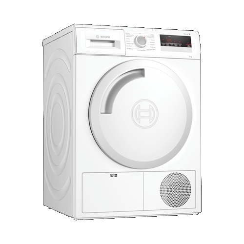 Bosch WTN83201GB Condenser Tumble Dryer 8kg in White - B Energy Rated Main
