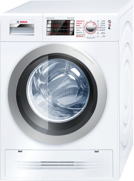 Washer Dryers Bosch WVH28422GB 7Kg Washer Dryer in White with 4Kg Drying Capacity and 1400 rpm Spin