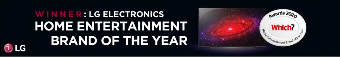 Which? Home Entertainment Brand of the Year Award 2020