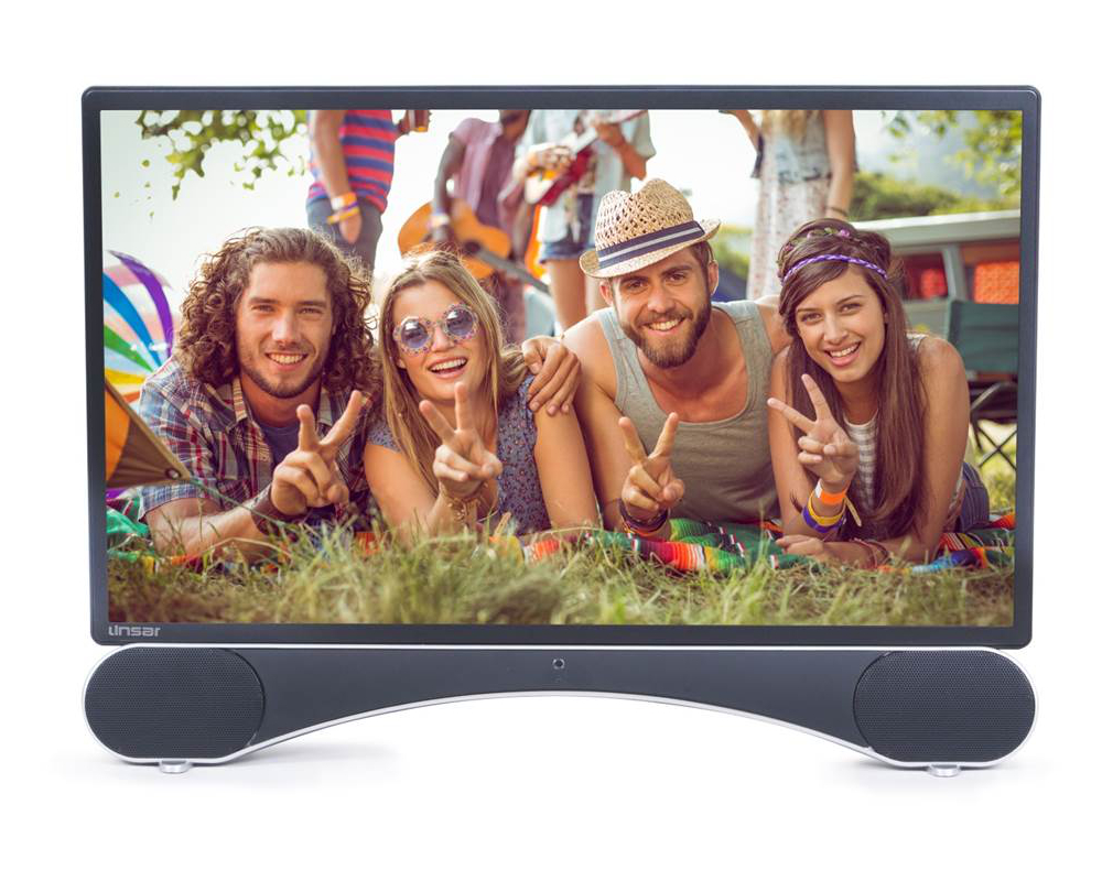 Linsar X22 22 inch Full HD LED TV with Built In Sound Bar Bluetooth and Freeview HD  Free 5 Year Warranty via Registration