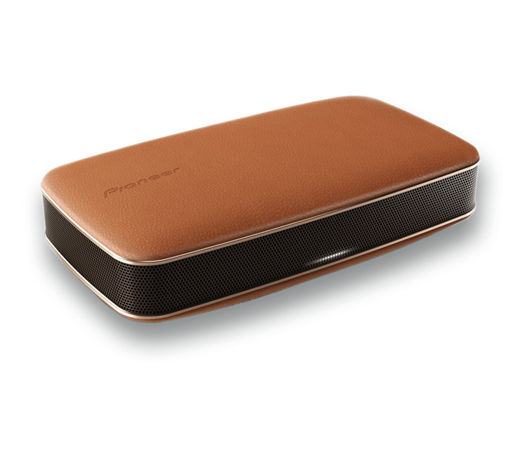 Pioneer XW-LF3-T FreeMe Bluetooth Speaker Brown Leather - Open Box Mint Condition