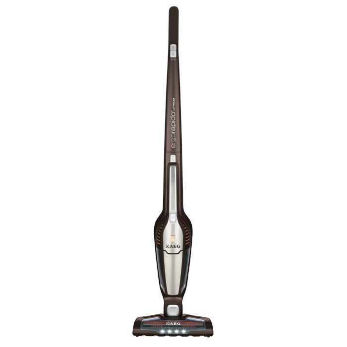 Image of AEG AG3011 18v Li-Ion Lightweight 2 in 1 Cordless Stick Vacuum Cleaner Chocolate Brown