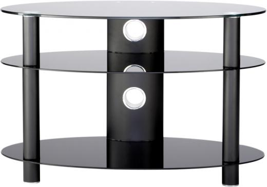 Stockists of Alphason AR800 Accord Table Stand in Black for Screens up to 37''