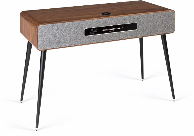 HiFi Speakers Ruark R7 Mk3 DAB DAB+ FM Internet Radio & CD Bluetooth Wi-Fi Wireless All-In-One Music System Walnut