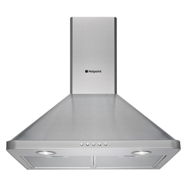 Image of Hotpoint HHP75CM 70cm Chimney Hood Stainless Steel
