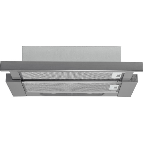 Hotpoint HSFX 60cm Integrated Telescopic Hood in Stainless Steel