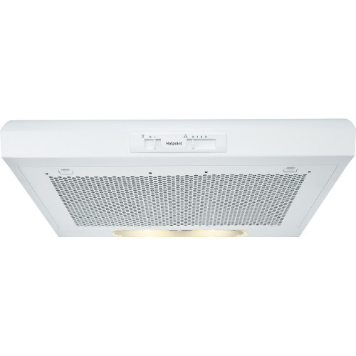 Hotpoint PSLMO65FLSW 60cm Conventional Cooker Hood White