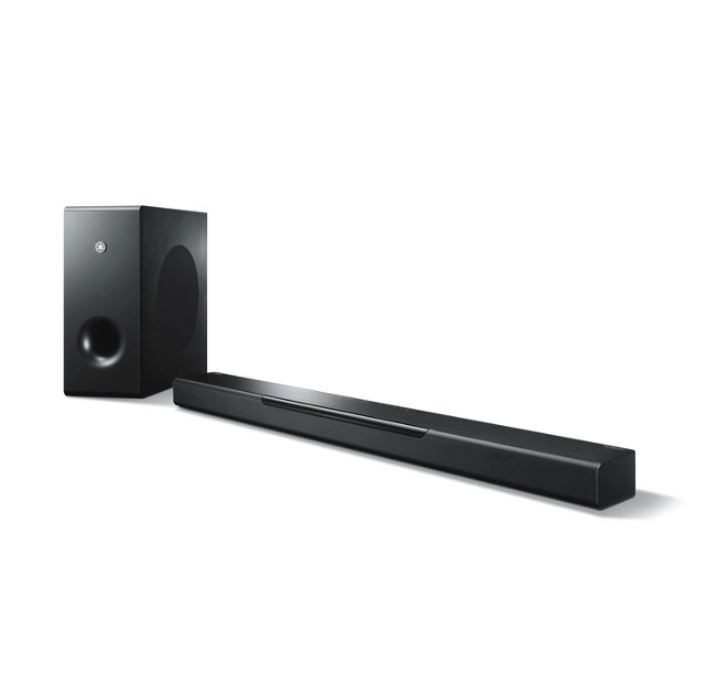 Yamaha MusicCast Bar 400 Soundbar with Wifi Wireless Music Streaming Bluetooth and Wireless Subwoofer YAS408