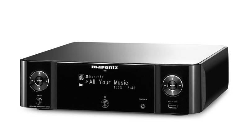 Marantz MCR510B Melody Stream Network Receiver Black