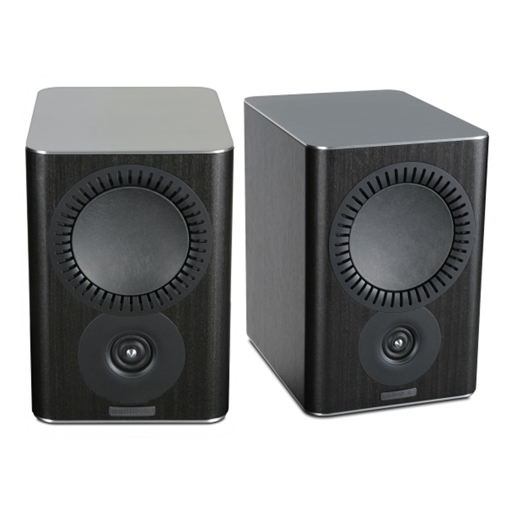 Mission QX2 Bookshelf Speaker Pair in Black