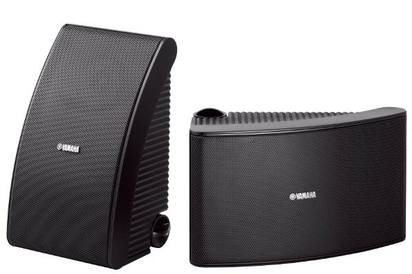 Yamaha NSAW592 Outdoor AllWeather Speakers in Black