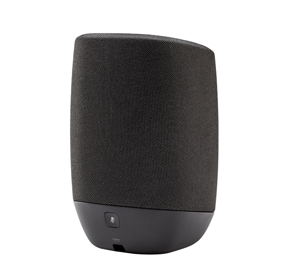 Image of Polk Assist Smart Speaker with the Google Assistant Built-In in Black