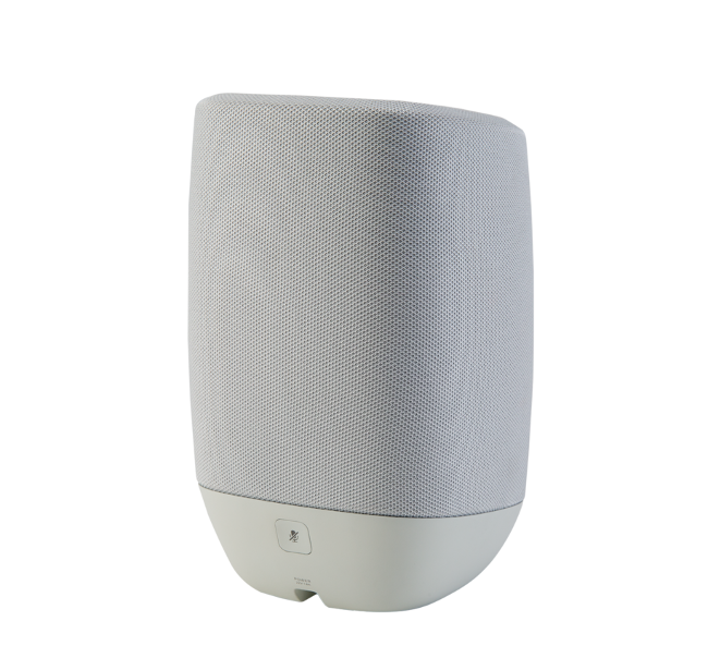 Image of Polk Assist Smart Speaker with the Google Assistant Built-In in Grey
