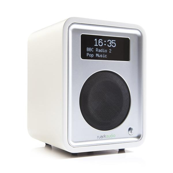Ruark R1 MK3 Deluxe table top radio with Bluetooth in White