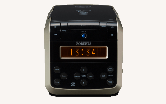 Image of DAB/FM CD/Clock Radio RDS Multiple Alarms 20 Stations