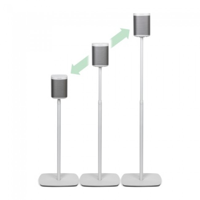 Image of Flexson Adjustable Floor Stand for Sonos PLAY:1