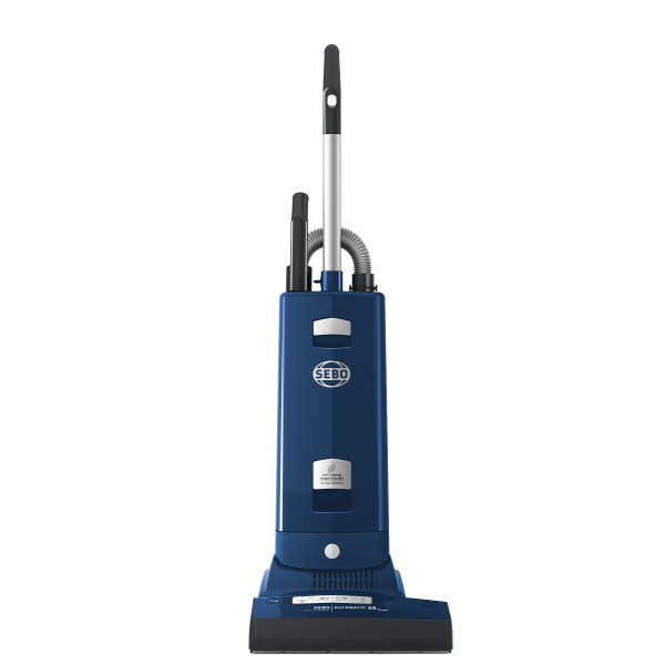 Sebo 91556GB Automatic X8 WideTrack ePower Vacuum Cleaner in Blue with Free 5 Year Guarantee