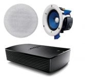 Bose® SoundTouch® SA-5 Amplifier with 1 Pair of Yamaha NSIC400 In-Ceiling Speakers