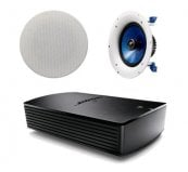 Bose SoundTouch SA-5 Amplifier with 1 Pair of Yamaha NSIC800 In-Ceiling Speakers