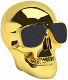 Jarre AeroSkull Nano Bluetooth Speaker Dock in Chrome Gold