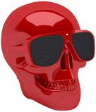 Jarre AeroSkull Nano Bluetooth Speaker Dock in Glossy Red
