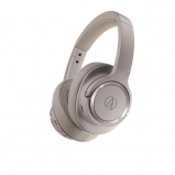 Audio Technica ATHSR50BT Wireless Noise Cancelling Headphones in Grey Front View