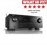 Denon AVRX2500HBKE2GB 7.2 Ch. 4K AV Receiver with Amazon Alexa Voice Control