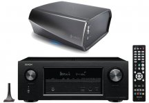 Denon AVRX3300W 7.2 Channel AV Receiver with HEOS Link HS2 Pre-Amp System