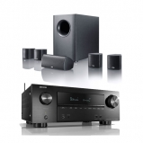 Denon AVRX2600H AV Receiver with Canton Movie 75 5.1 Surround Sound System in Black
