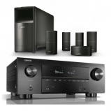 Denon AVRX3500H AV Receiver 3 Year Warranty with Bose Acoustimass 10 Series V in Black