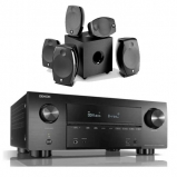 Denon AVRX3500H AV Receiver 3 Year Warranty with Focal Sib Evo 5.1.2 Home Cinema System in Black