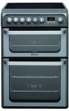 Hotpoint HUE61GS 60cm Freestanding Electric Cooker in Graphite