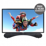 Linsar X24DVDMK2 24 Inch LED Full HD 1080p TV DVD Kit with Freeview HD and Built In Soundbar