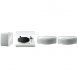 Yamaha MusicCast Vinyl 500 2.1 Package with 2 MusicCast 50 and Musiccast Sub 100 In White