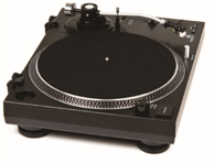 Dual MTR-40 Profi-USB Turntable in Black for DJ's