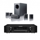 Marantz NR1509 Black  Slim 5.2 Channel AV Receiver with Canton Movie 75 5.1 Surround Sound System