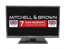 Mitchell & Brown JB-431811FSMDVD Smart TV with Built in DVD Player front
