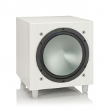 Monitor Audio Bronze W10 Subwoofer in White Ash