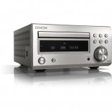 Denon RC-DM41DAB Micro Hi-Fi CD Receiver in Silver - Open Box