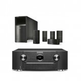 Marantz SR6013B AV Receiver with HEOS and Bose 5.1 Acoustimass 10 in Black