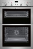 Neff U14M42N3GB Double oven Stainless steel